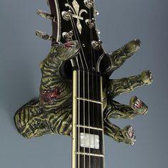 Zombie Hand Guitar Hanger #Guitar, #Hanger, #Zombie