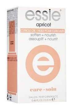Ragged cuticles are inevitable this time of the year, so just a few drops of this nourishing oil will soften them up while adding a nice, healthy sheen to your nails. Added bonus: It has a yummy apricot smell. Essie Cuticle Oil, $8.39, available at Soap.com. #refinery29 http://www.refinery29.com/affordable-hair-skin-products#slide-8