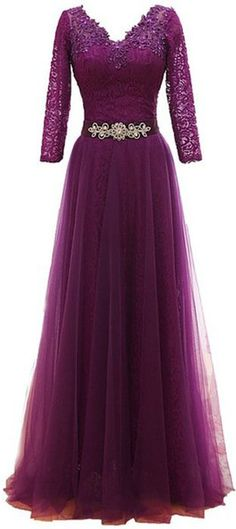 *Maillsa Mother of the Bride Lace Dresses with Sleeves Evening Love the style not the color Prom Dresses Long With Sleeves, Lace Dress With Sleeves, Cute Dresses, Formal Dresses, Bride Dresses, Dress Long, Dresses 2016, Long Dresses, Mother Of Groom Dresses