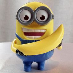 Despicable Me 2 Talking Dave Minion Banana Babbler McDonalds Happy Meal Toy #3