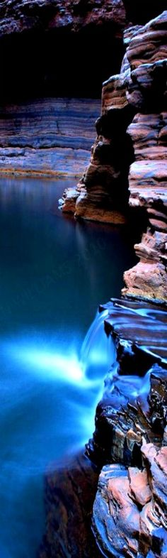 Kermits Cascade, Kermits Pool, Hancock Gorge, Karijini- Western Australia