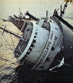 This ship served only 5 months on the Great Lakes before it was abandoned. Abandoned Ships, Abandoned Places, Great Lakes Shipwrecks, Great Lakes Ships, Ghost Ship, Armada, Lighthouse, Underwater, Michigan