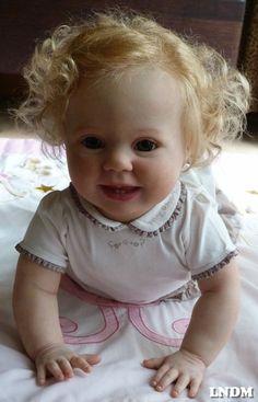 reborn doll ,baby girl,Toddler, Prototype Amelia, Donna Rubert