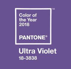 Color del año Pantone 2018: Ultra Violet.