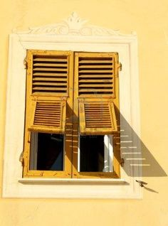 Italian shutters are truly magnificent