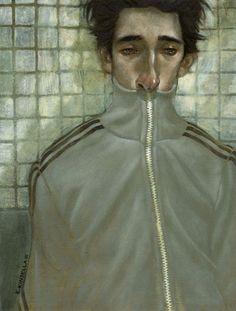 Adrien Brody by Edward Kinsella