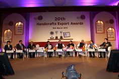 20th Handicrafts Export Awards Ceremony hosted by EPCH India on 18th March, 2015 — at The Ashok Hotel, New Delhi #epchindia #exportawards