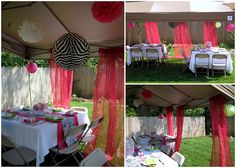 More Zebra Themed Baby Shower Decoration Ideas