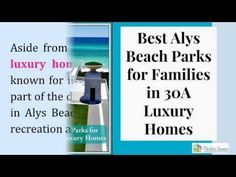 http://30aluxuryhomes.realtytimes.com/advicefromtheexpert1/item/38208-top-5-parks-in-alys-beach  http://www.30ALuxuryHomes.com - Check out the best parks to have a picnic with your family near your 30A luxury homes in Alys Beach. Call me, Debbie James, at 850-450-2000. Let me provide you with all the information and tools you need to make your dream 30A luxury home a reality.