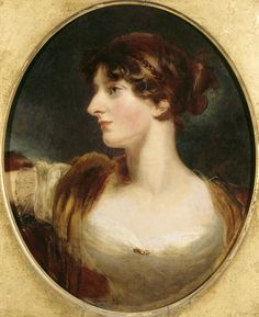Isabella Wolff, by Sir Thomas Lawrence, at Croft Castle, Herefordshire. ©NTPL/John Hammond