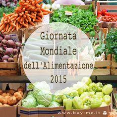16 ottobre: oggi si celebra la Giornata Mondiale dell'Alimentazione! #worldfoodday http://bit.ly/1jG7aHI