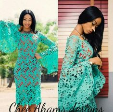Check out these Dripping Hot Aso Ebi Styles Perfect For The Season. Aso ebi styles are like a custom and tradition in Nigeria especially at Lagos African Lace Styles, African Lace Dresses, African Fashion Dresses, Nigerian Lace Styles, Nigerian Lace Dress, African Style, African Attire, African Wear, African Women