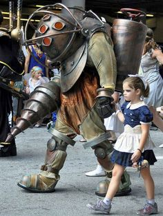 Parenting done right. BioShock! <3