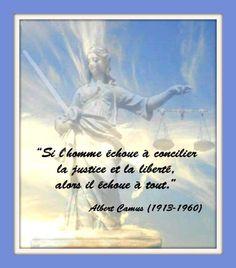 """Citation """"justice et liberté"""""""