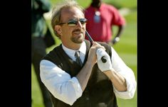 No Way Out? Kevin Costner examines his golf balls trajectory during the Celebrity Challenge at the 2003 ATT Pebble Beach Pro-Am golf tournament in Pebble Beach, California.
