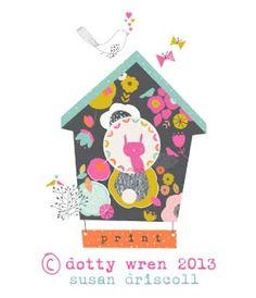 dottywrenstudio: little bird house