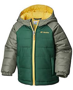 Boys' Toddler Tree Time™ Puffer Jacket Puffer Jackets, Winter Jackets, Columbia Kids, Columbia Sportswear, Outdoor Outfit, Jackets Online, Canada Goose Jackets, Kids Outfits, Underwear