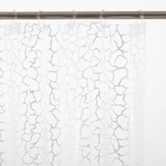 Glass Beaded Shower Curtain