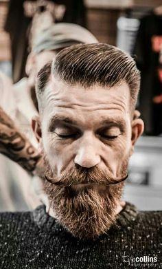 The Conquistador. Men's Hair. Fades. Barber