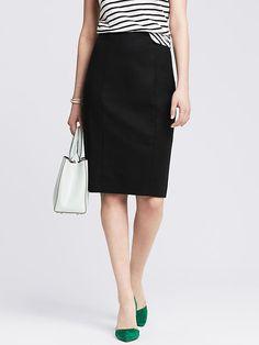 Sleek Suit Pencil Skirt Product Image