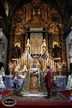 Besamanos a la Virgen de la Concepción del Silencio. Sevilla:::RAFAES Blessed Mother, Mother Mary, Our Lady, Jesus Christ, Joseph, Pray, Buildings, Religion, Angels
