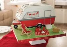 30 super Ideas for birthday surprise diy creative for kids Birthday Cake For Husband, Happy Birthday Cakes, Diy Birthday, Camper Cakes, Caravan Cake, Best Birthday Surprises, Birthday Cake Decorating, Summer Picnic, Great British