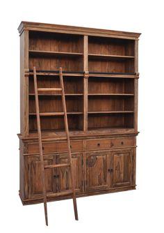 W nowościach sklepu Karina Meble Indyjskie znajdziecie piękne, duże kolonialne biblioteczki z drabiną. Idealne dla bibliofili. Pomieszczą sporą kolekcję książek, drabina ułatwi dostęp do górnych półek. http://karinameble.pl/…/biblioteczka-z-drabina-Classic…/4327