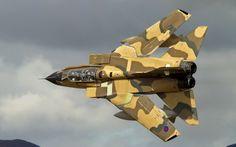 """RAF Panavia """"Tornado"""" GR4."""