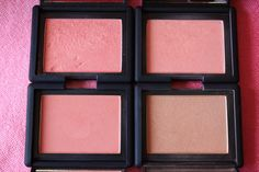Nars blushes for fair skin: Orgasm, Deep Throat, Amour, & Madly