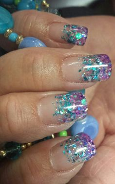 Custom Colored Acrylics by Mary