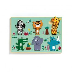 Nestable wooden puzzle Coucou-croco Djeco € - Djeco wooden Coucou-croco nesting puzzle, with some beautiful jungle animals that join together in - Toddler Toys, Baby Toys, Kids Toys, Waiting For Baby, Animal Puzzle, Hobbies That Make Money, Jungles, Wooden Puzzles, Wooden Toys