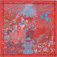 Metamorphosis red/blue/coral