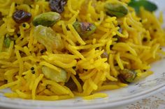 The view from Great Island: Indian Style Saffron Rice