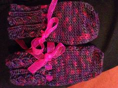 Mittens for Kelly. Pattern: Baby Mittens, Infants to 6 Months and 1 Year Old by Nell Armstrong. Yarn: Plymouth Yarn Happy Feet DK. Gifted to me by Littletoe on Ravelry.