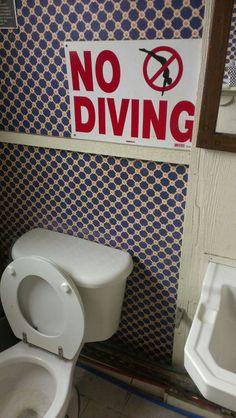 No Diving!!!!!!
