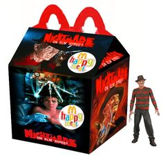 """A Nightmare On Elm Street"" Happy Meal"