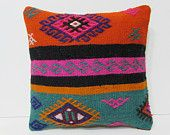 kilim pillow moroccan pillow case chevron pillow cover indie throw pillow stripe pillow cover rustic bedding country decoration pillow 25840