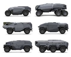 Army Vehicles, Armored Vehicles, Futuristic Cars, Futuristic Vehicles, Expedition Vehicle, Truck Design, Military Equipment, Transportation Design, Concept Cars