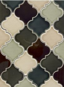 Beautiful colored tile. Imagine the possibilities!