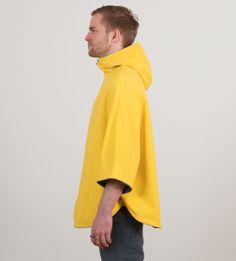 Poncho Design, Raincoat, Urban, London, Yellow, Jackets, Shopping, Fashion, Ponchos