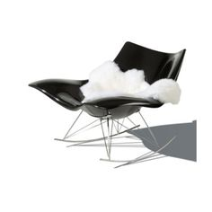 Fredericia Stingray Lammskinn - danskdesign.nu Sitting Positions, Butterfly Chair, Rocking Chair, Stingray, Modern, Inspiration, Furniture, Design, Home Decor