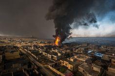 Im Juni 2014 eroberte die Terrormiliz die südlich von Mossul gelegene Stadt...