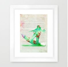 Surfing. Fiji. Duo. Abstract Painting. Modern от BackstageStore, $7.00