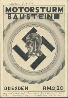 Germany, Third Reich, Motorsturm Baustein, Dresden, ca. 1933