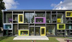 Children's daycare centre in Hamburg with a playful façade - http://www.decorationarch.net/interior-design-ideas/childrens-daycare-centre-in-hamburg-with-a-playful-facade.html -