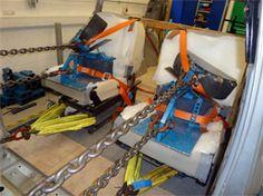 Campervan Seat Anchorage Test for the Sanna and Jura VW T5 Campervans