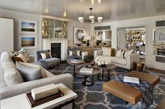 100 Transitional Living Room Decor Ideas 35