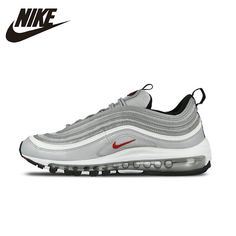 8a0e1c1544e41 NIKE Air Max 97 OG Original Mens Womens Running Shoes Breathable Stability  Support Sports Sneakers For Mens And Womens Shoes