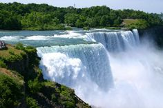 Niagara Falls, New York 29 Surreal Places In America You Need To Visit Before You Die Oh The Places You'll Go, Places To Travel, Travel Destinations, Places To Visit, Dream Vacations, Vacation Spots, Acadie, Deserts, Waterfalls