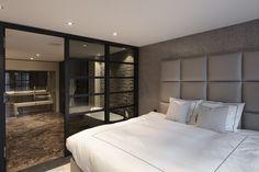 Boho Living Room, Living Room Sets, Green Master Bedroom, Master Bedrooms, Bedroom Inspo, Bedroom Decor, Luxe Decor, Dream Home Design, Modern House Plans